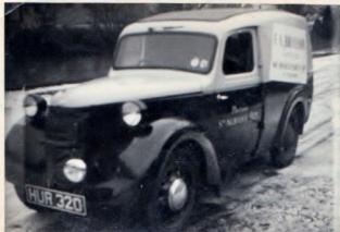 Branson's delivery van