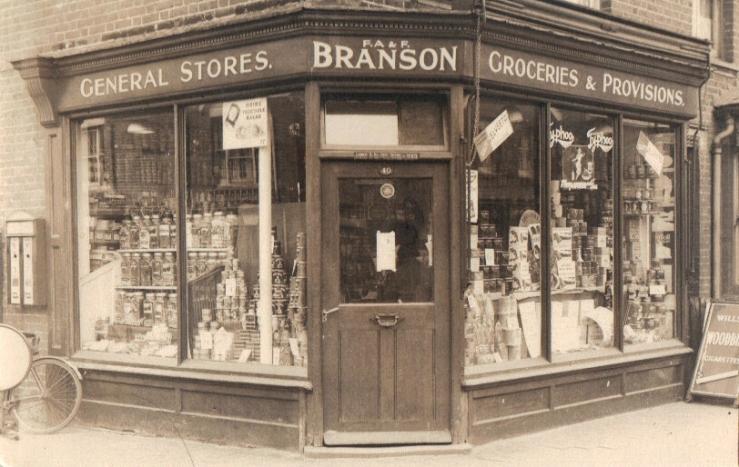 Corner Burnham & Harlesdon Roads